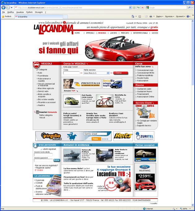 lalocandina.it website webdesign sito internet