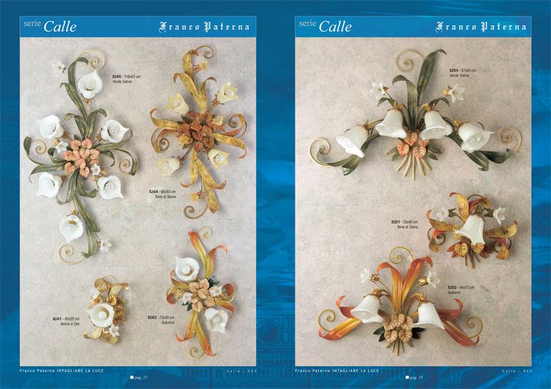 catalogo grafico creativo lampadari Paterna