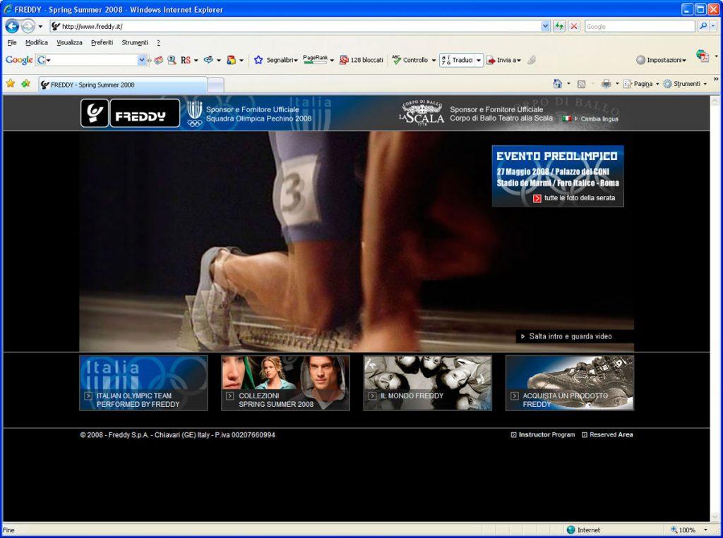 freddy studio benvenuti firenze website webdesign