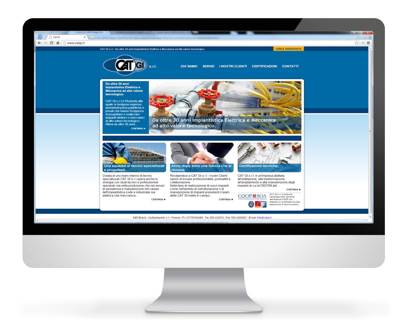 sito internet per azienda termo-idraulica a firenze